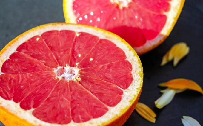 citrus slice wallpaper 4k background