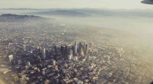 City Aerial View Wallpaper