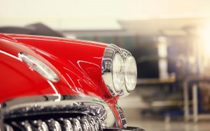 Classic Car Headlights Wallpaper