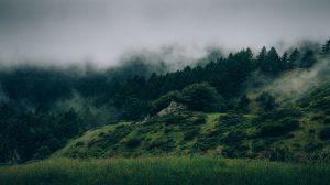 Cloudy Mountain Wallpaper 4K 5K
