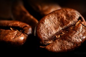 coffee bean close up wallpaper background