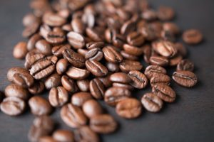 Coffee Beans Close Up Wallpaper 4K