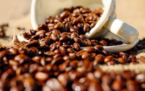 Coffee Beans Wallpaper Background