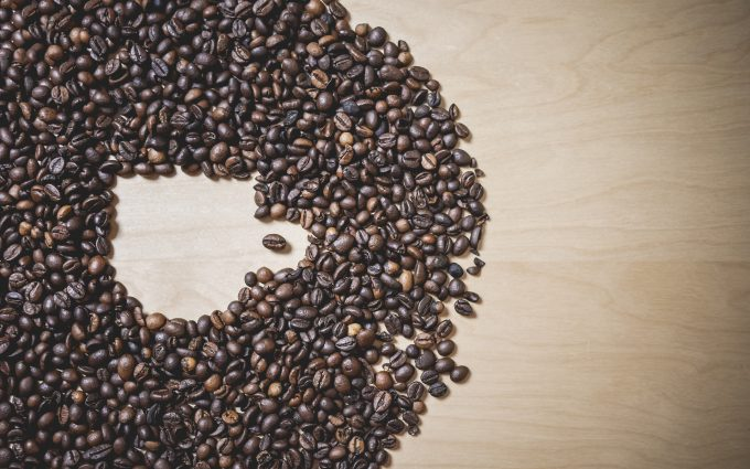 coffee beans wallpaper 4k background