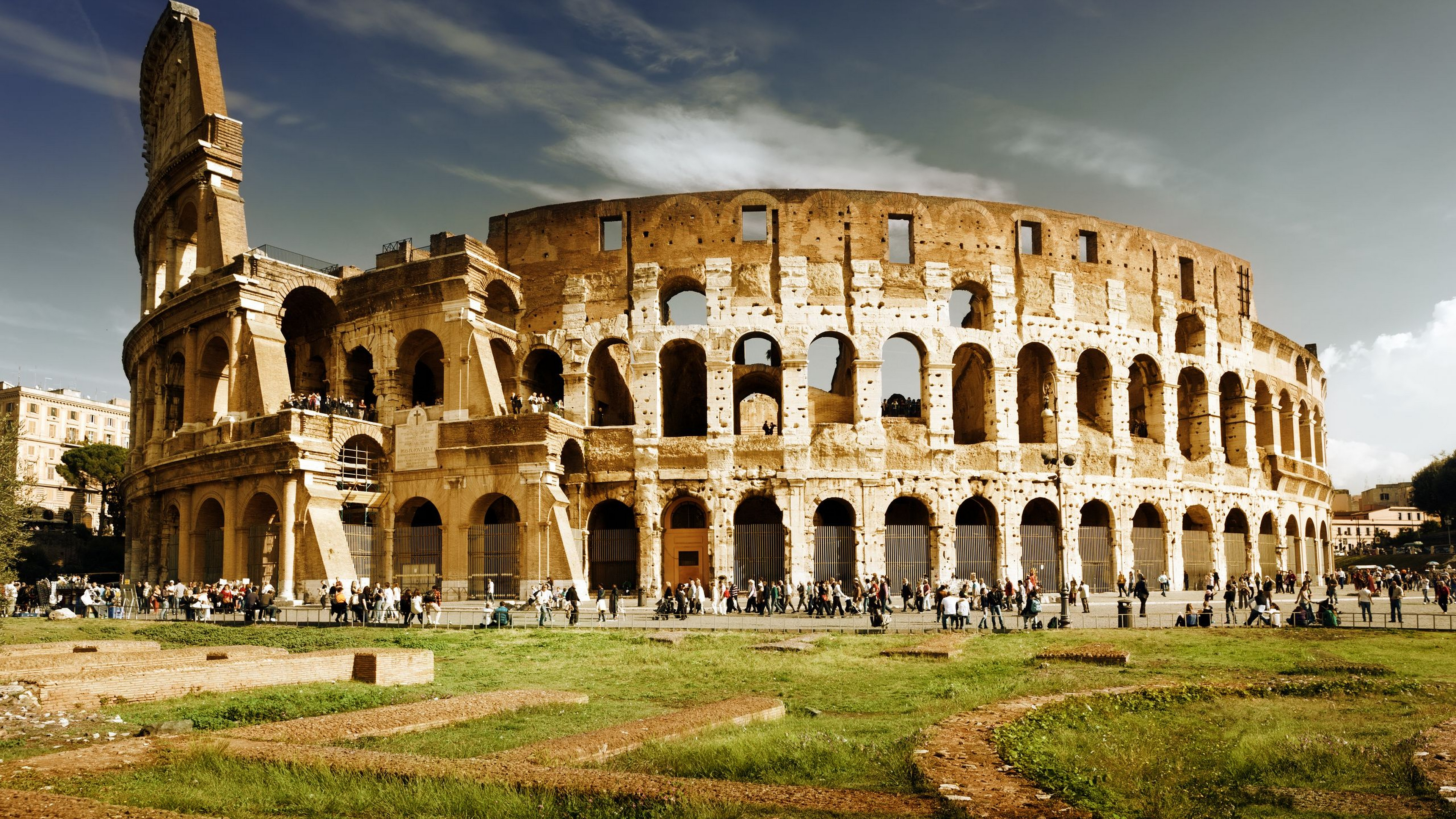 colosseum wallpaper 4k background