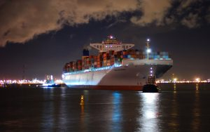 Container Ship Wallpaper