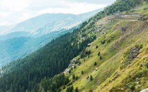 Countryside Mountains Wallpaper