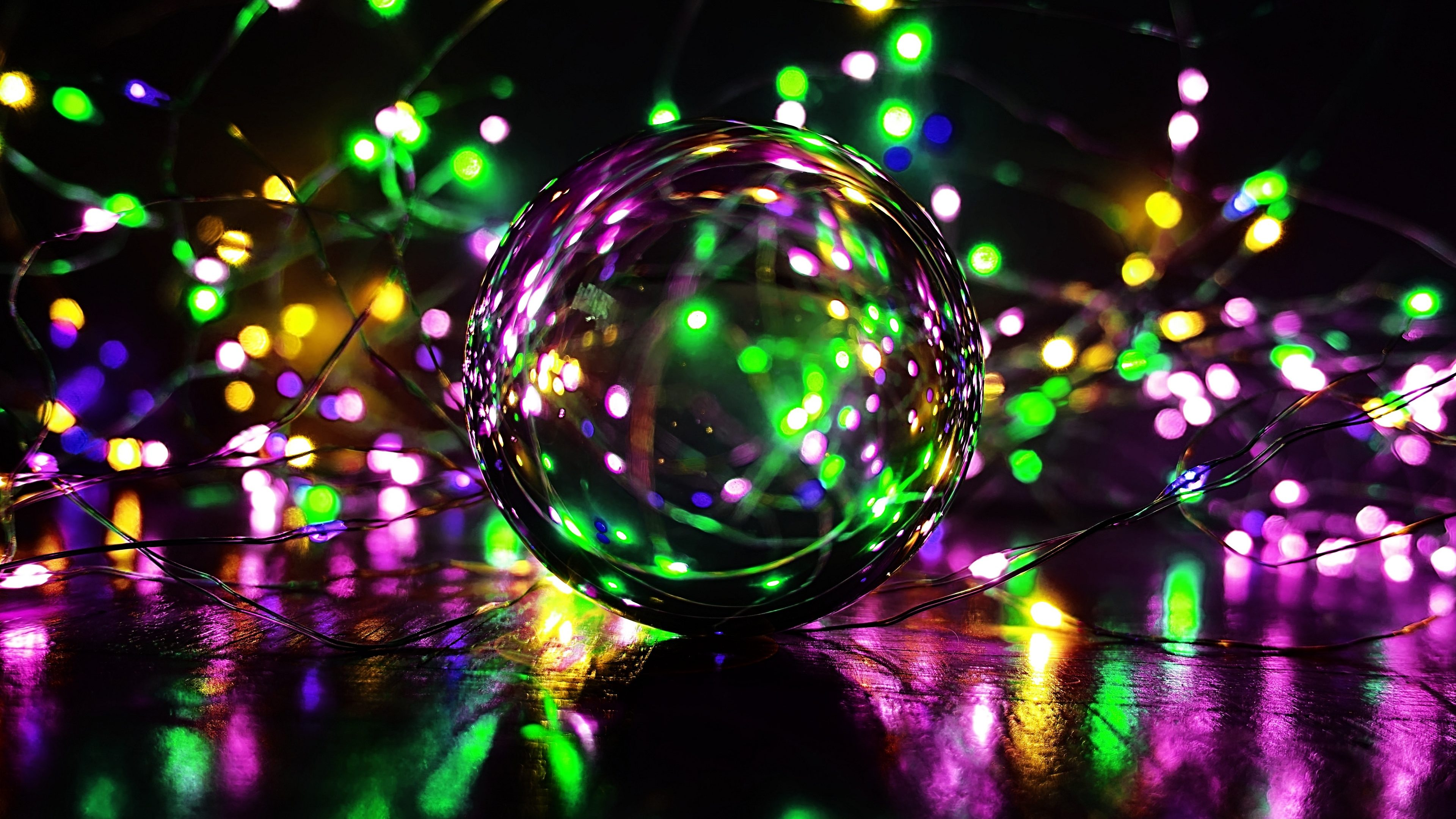 Crystal Ball Photography 4k Wallpaper Hd Wallpaper Background