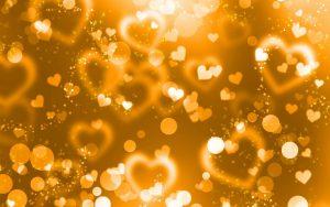 Crystal Hearts Wallpaper