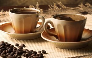 Cups of Coffee Wallpaper