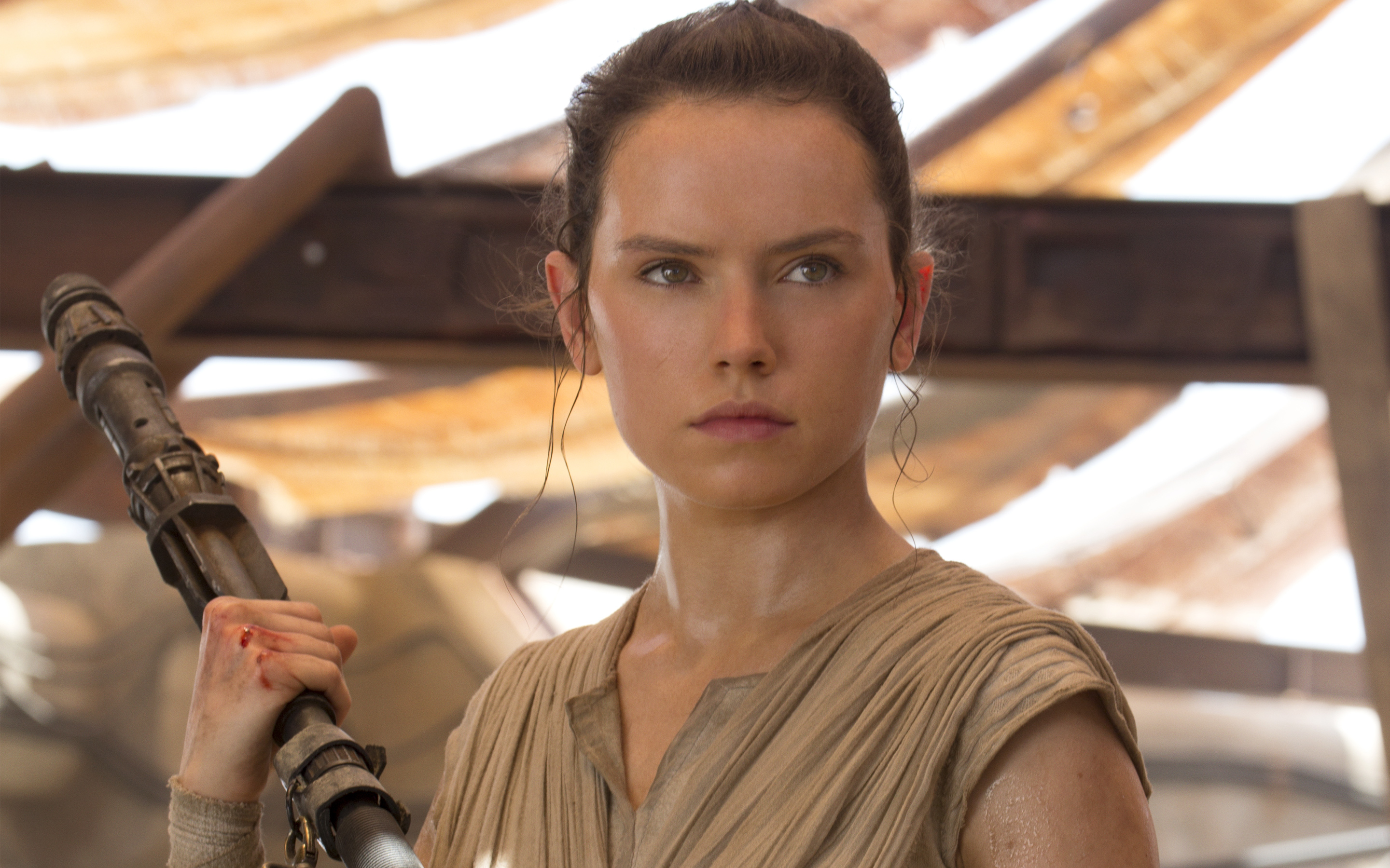 daisy ridley star wars wallpaper background