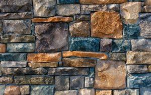 Decorative Colored Stones Wallpaper