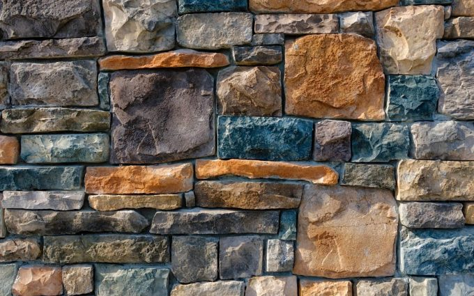 decorative colored stones wallpaper background