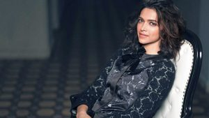 Deepika Padukone Black Dress Wallpaper