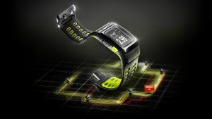 Digital Hand Watch Wallpaper