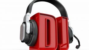 DJ Headphone Wallpaper