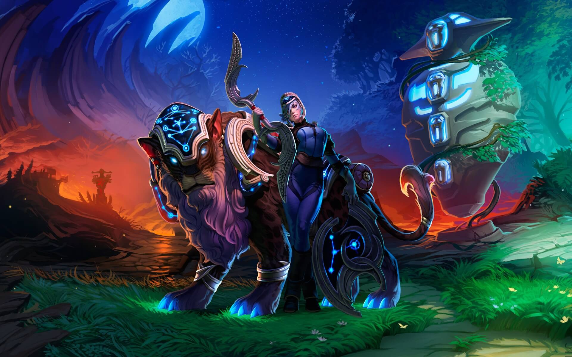 dota 2 loading screen wallpaper background