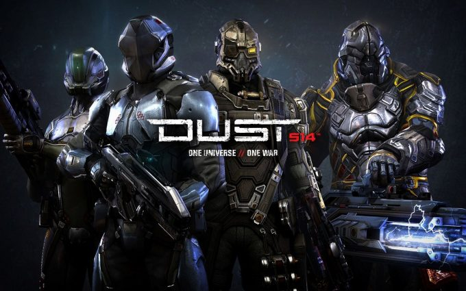dust 514 game wallpaper background