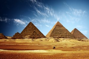 egyptian pyramids wallpaper background