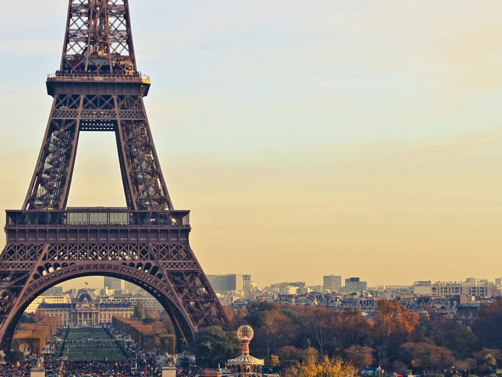 Eiffel Tower Paris Wallpaper Hd Wallpaper Background