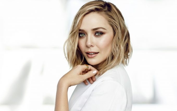 elizabeth olsen wallpaper 4k background