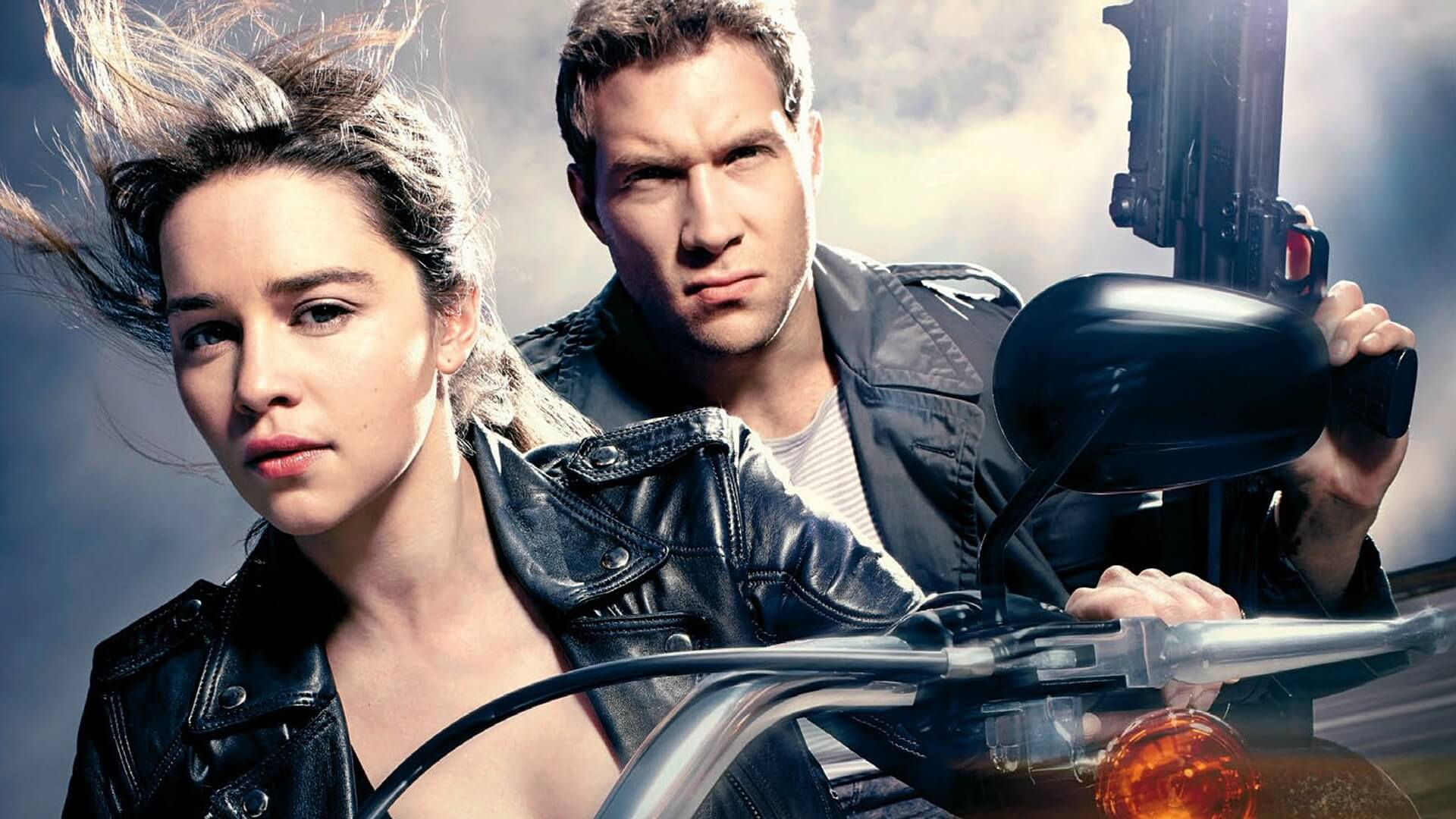 emilia clarke terminator genisys wallpaper background