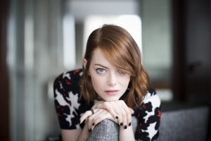Emma Stone Eyes Wallpaper Background