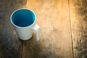 empty mug 4k 5k wallpaper