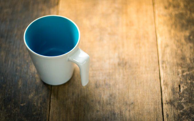 empty mug 4k 5k