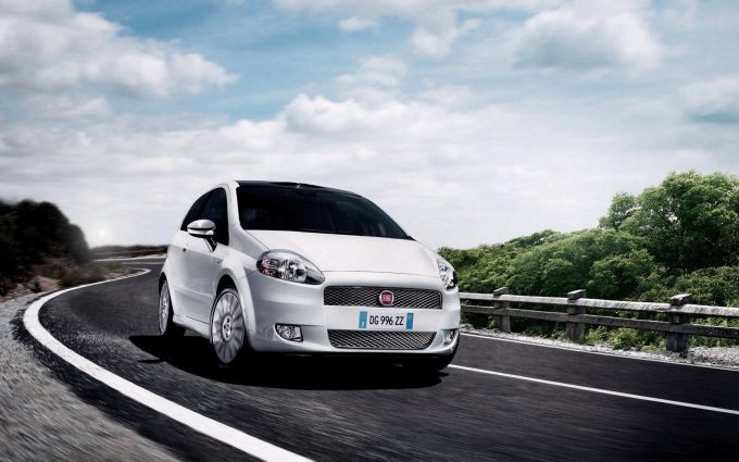 fiat punto wallpaper background