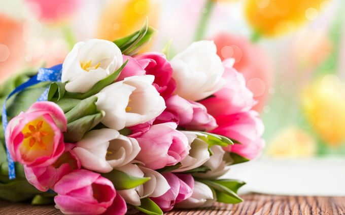 flower vase wallpaper background