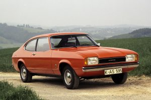 ford capri mk2 wallpaper