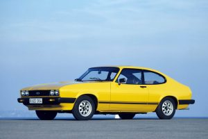Ford Capri MK3 Wallpaper