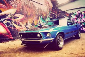 Ford Mustang Mach 1 Wallpaper