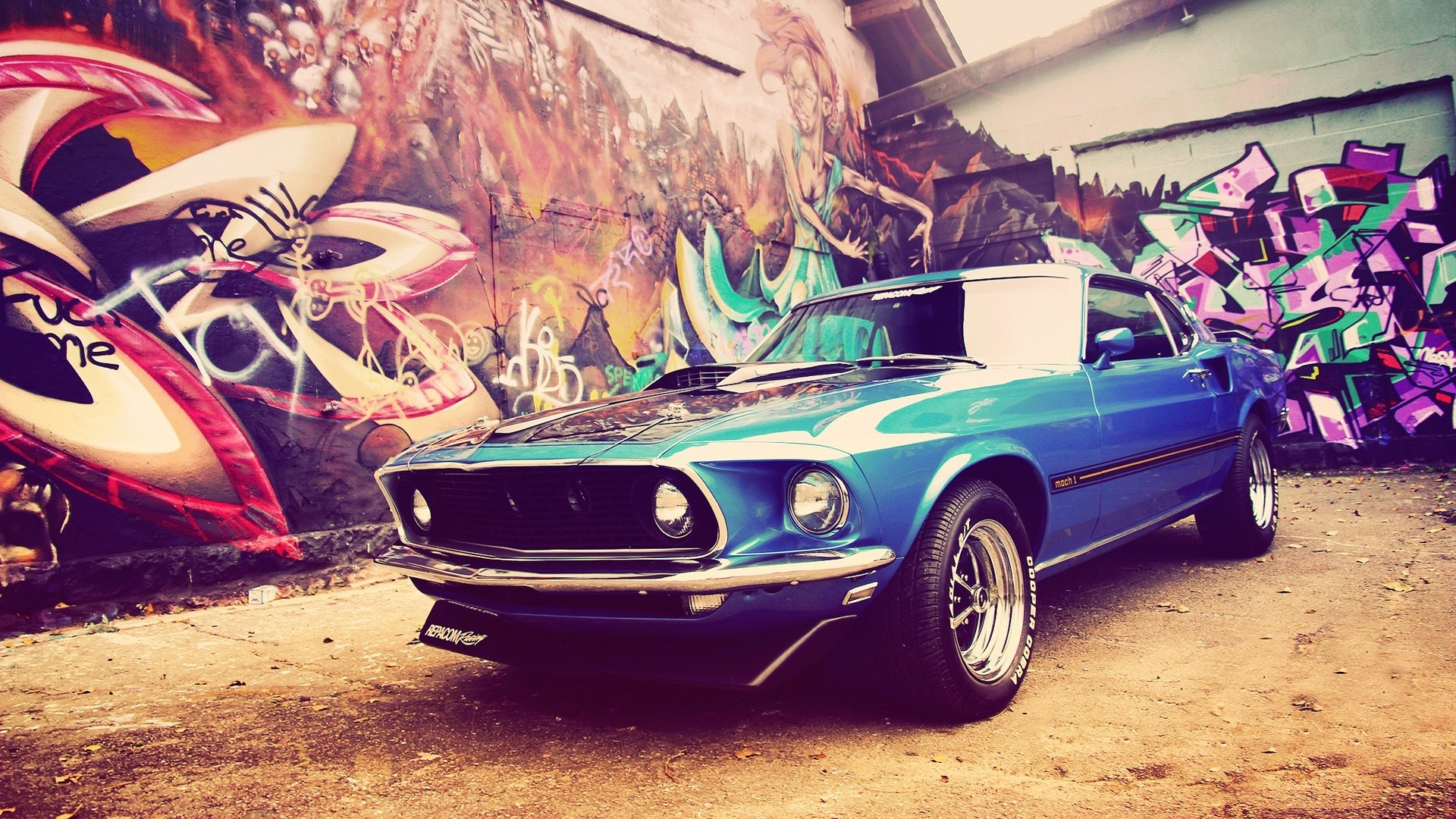 ford mustang mach 1 wallpaper background