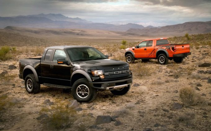 ford pickup truck wallpaper background