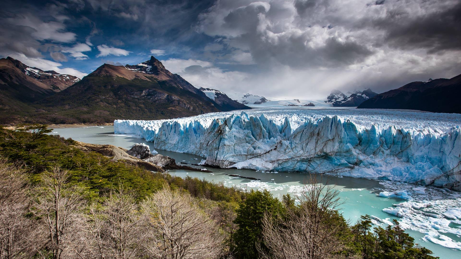 glacier wallpaper background