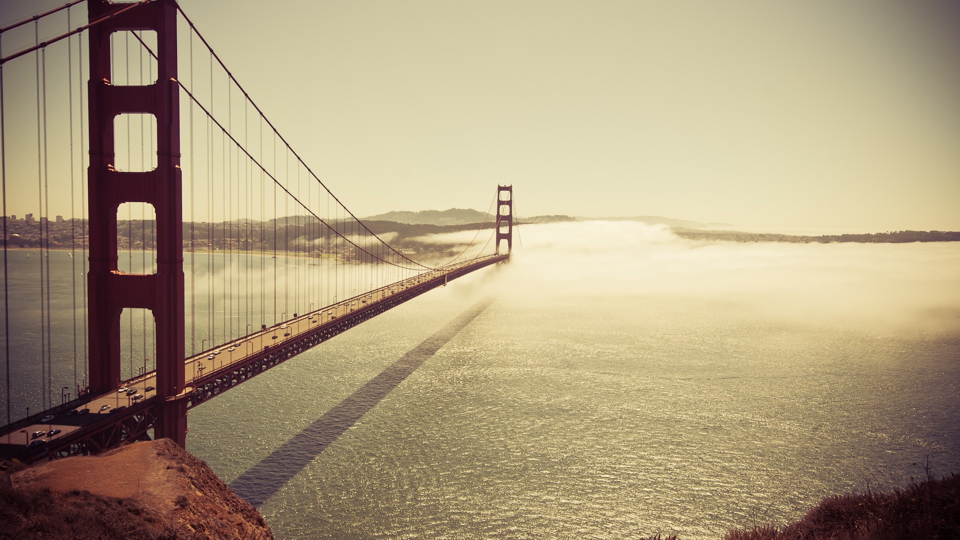 golden gate bridge wallpaper background