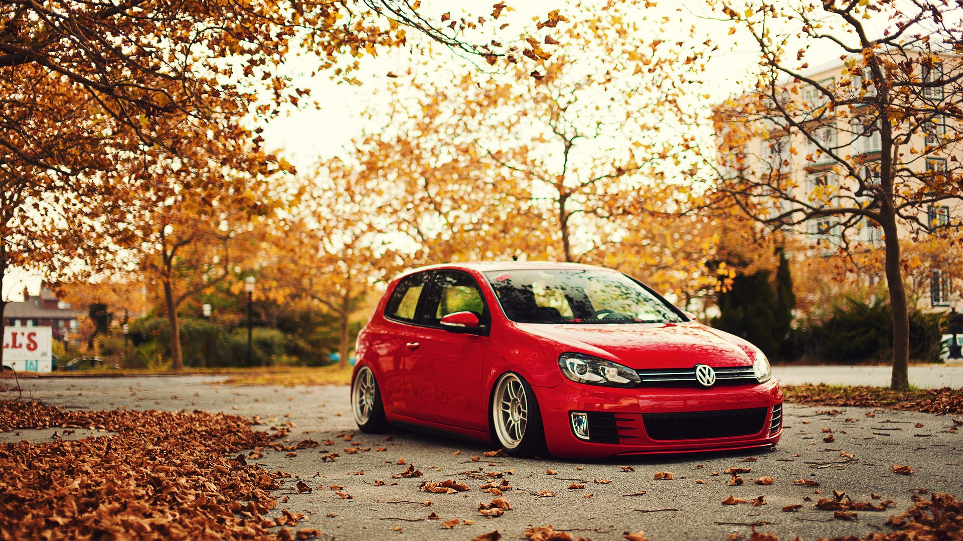 Golf GTI Wallpaper Background