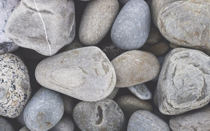 gray rocks wallpaper 4k background