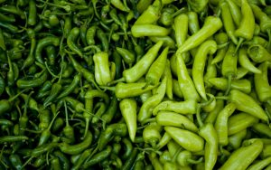 Green Chillies Wallpaper Background