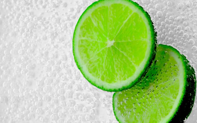 green citrus wallpaper background