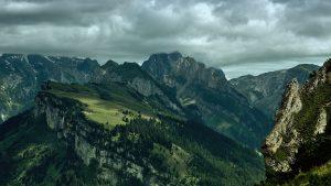 Green Mountains HD Wallpaper