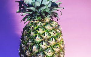 Green Pineapple Wallpaper Background