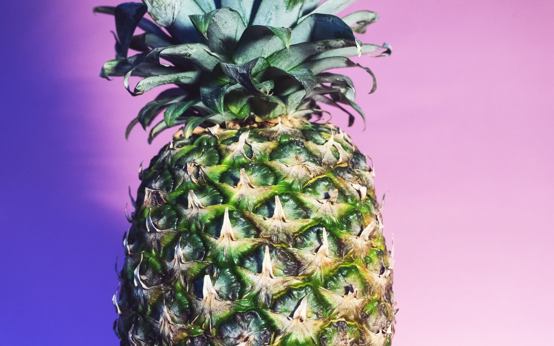green pineapple wallpaper background