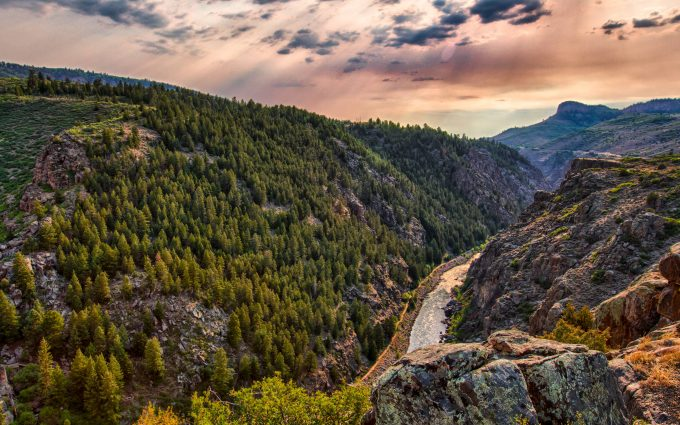 gunnison national park 4k wallpaper background