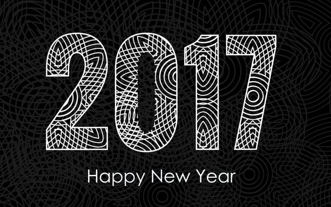 happy new year 2017 wallpaper background