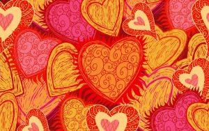 Heart Art Wallpaper