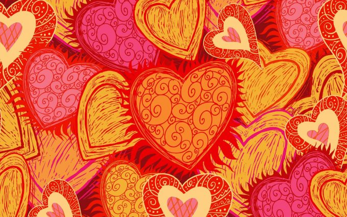 heart art wallpaper background, wallpapers