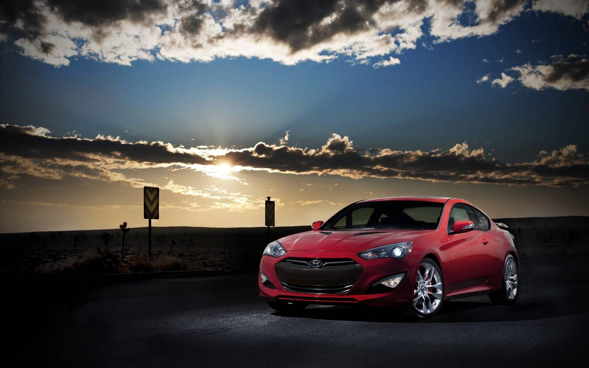 Hyundai Genesis Coupe Wallpaper Hd Wallpaper Background